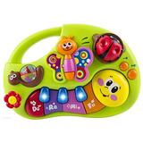 Wolvol Bebé Musical Piano Teclado Infantil Juguete Educativ