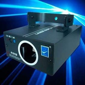 Laser Big Dipper K101b Azul 120mw Dmx Sound Efecto Dj Prof.