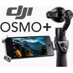 Dji Osmo+ Plus Zoom 7x 4k + Micro + 2 Baterias - Lançamento