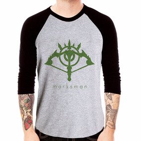 Camiseta Raglan 3/4 League Of Legends