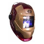 Mascara Para Soldar Fotosensible Lusqtoff Ironman Iron
