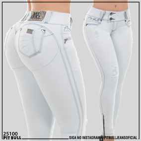 Calça Cigarrete Pit Bull Jeans Com Elastano E Bojo Removível
