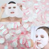 Mascaras Faciales Comprimidas Pastillas X 10