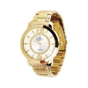 Relógio Feminino Champion De Luxo Passion Ch24259h Dourado