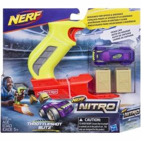 Nerf Lanzador Nitro Thottleshot Blitz Green