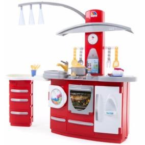 Cocina Cocinita Electronica Juguete Infantil Molto