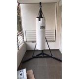 Soporte Saco De Boxeo De Pie Plegable Armable Transportable