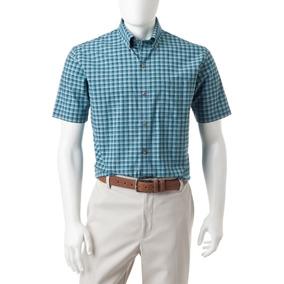 Camisa Van Heusen Talla L Cuello 16-16.5 Luxe Touch
