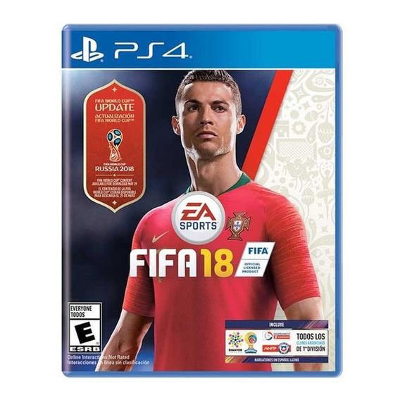 Fifa 18 World Cup Edition Juego Ps4 Cd Nuevo Original Fisico