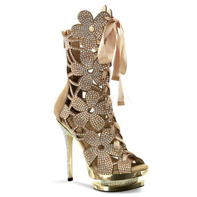 Zapatillas Botas Pleaser Fantasia-1020 Elegante Gotham