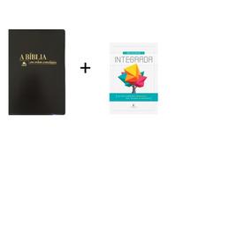 Bíblia Em Ordem Cronológica Preta+biblia De Estudo Integrada