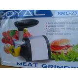 Molino De Carne Eléctrico Marca Royal Garantizados