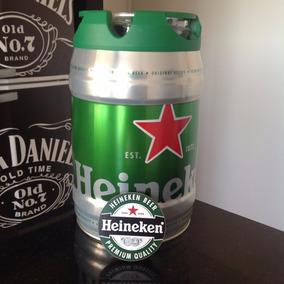 Barril Chopp Heineken 5 Litros Cheio + Brinde /super Oferta!
