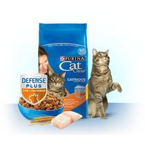 Ração Cat Chow Castrados Peixe3kg