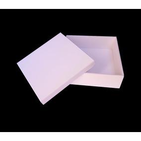 20 Caixas 15x15x5 Mdf Lembrancinhas Casamento Pintura Branco