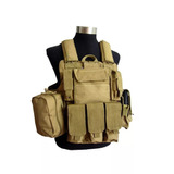 Chaleco Tactico Militar Para Airsoft Paintball Color Mud
