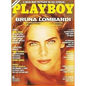 Revista Playboy Bruna Lombardi De 1991 Ainda Lacrada