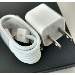 Cubo + Cable Lightning Apple Original Iphone Ipod Ipad 1m