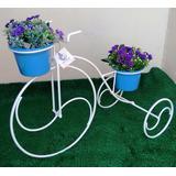 Suporte De Vaso Bicicleta Decorativa De Varanda Jardim Gran