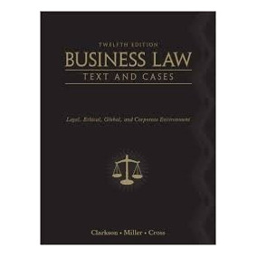 Libro Leyes Business Law Text And Cases 12th Edition