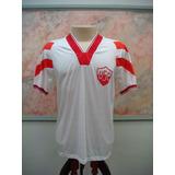 Camisa Futebol Uberaba Mg Via V Jogo Antiga 1276