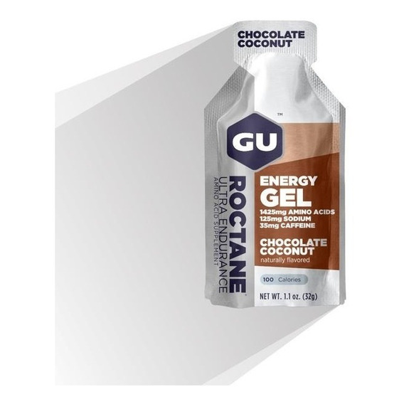 Geles Gu Roctane Energy Gel Usa Sodio + Bcaa + Beta Alanina