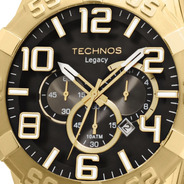 Relógio Masculino Technos Legacy Dourado Os20im/4p Original