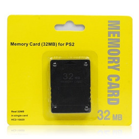 Memory Card Playstation 2 Ps2 32 Mb