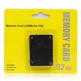 Memory Card Playstation 2 Ps2 32 Mb Generica
