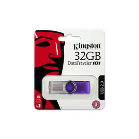 Pendrive Kingston 32gb Datatraveler 101 G2 Usb 2.0 Original