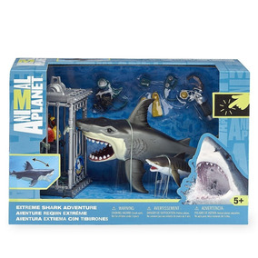 Animal Planet Aventura Extrema Con Tiburones Playset
