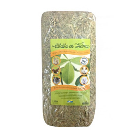 Alfalfa Prensada Natural -(650grs Aprox) Land Rabbit-