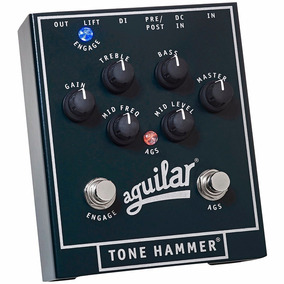 Pedal Aguilar Tone Hammer Bass Contra Baixo Th 8
