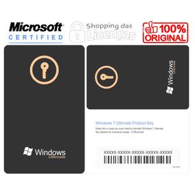 Licença Windows 7 Ultimate Serial + Nota Fiscal + Garantia