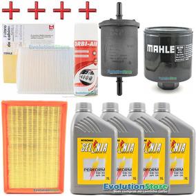 Kit Filtros Gol G5 G6 Motor 1.0 + Higienizador + 4lts Óleo