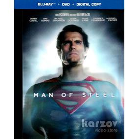 Man Of Steel El Hombre De Acero Blu-ray + Dvd + Dc + Book