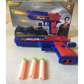 Lançador Nerf Arma Brinquedo Pistola Desert Atira Dardos