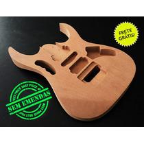 Corpo De Guitarra Similar Ao Modelo Ibanez Jem - Mogno