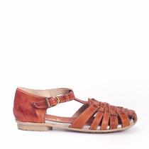 Zapato Guillermina Dama En Cuero Marcel Calzados (cod.16082)