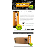 Altenis - Caja De Pelotas De Tenis Profesionales Head Atp