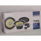 Fabuloso Set De Medios Krack Audio Kxp-620k 200watts/100rms