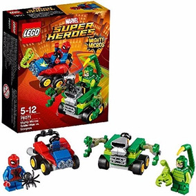 Lego Super Heroes 76071 Spiderman Vs Scorpion Educando