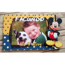 Portaretratos Souvenirs Mickey Mouse 7x10 Cm X10unidades