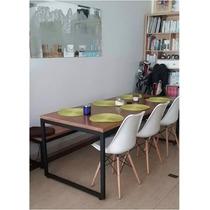 Conjunto Mesa De Jantar + 06 Cadeiras Ou 02 Bancos /sacada