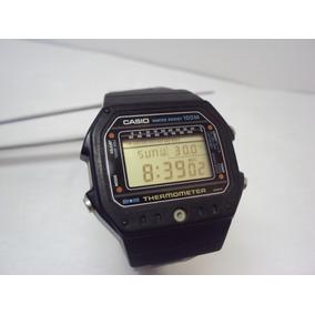 Reloj Casio Ts-1000 , Primer Reloj Con Termometro De 1982