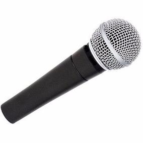 Microfone Profissional P/ Ensaiar Caixa De Som Amplificada