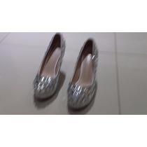 Sapato Importado De Salto Alto De Luxo