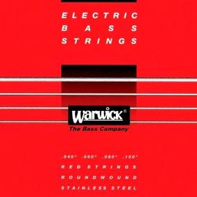Encordoamento Para Contra Baixo 4 Cordas Warwick 040