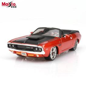 Dodge Challenger 1970 Tuning - Maisto 1/24 Em Metal Fundido