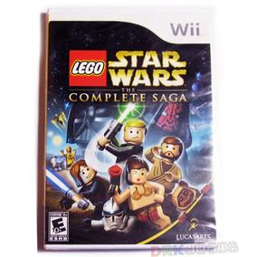 Lego Star Wars Complete Saga Original Lacrado Wii Frete 0!